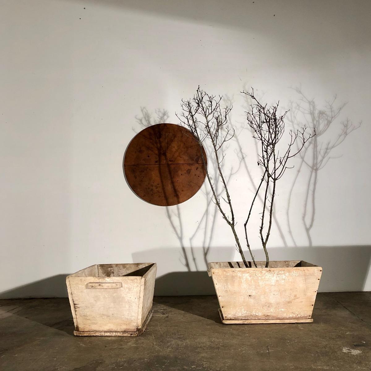 Pair Of Wooden Buckets Arno De Bondues Recent Added Items European Antiques Decorative